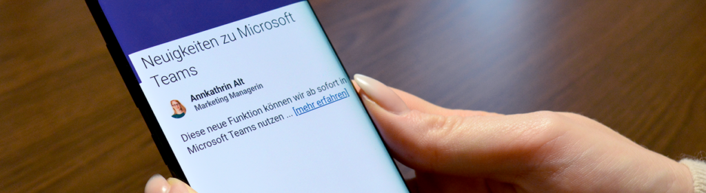 Microsoft Teams Lesebestätigung