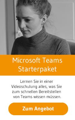 Microsoft Teams Starterpaket