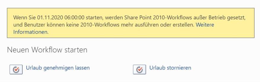 SharePoint 2010 Workflows enden