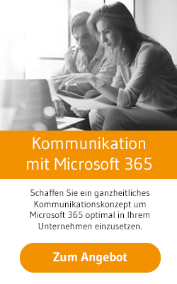 Kommunikationskonzept Microsoft 365 Workshop